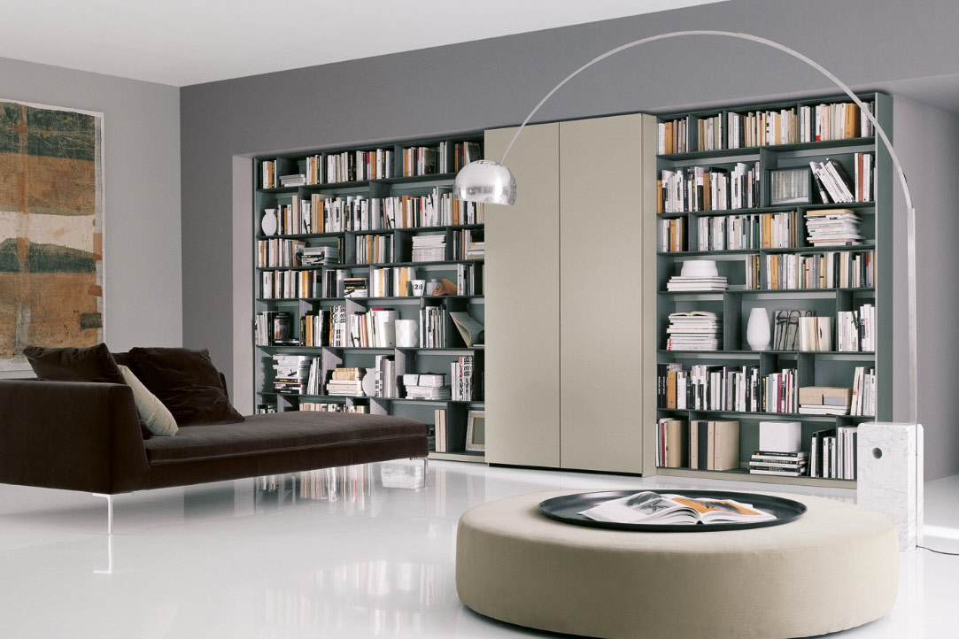 Private Library Style Innovative Living Space