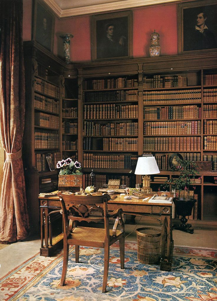 Famous private libraries design and ideas for Private library design