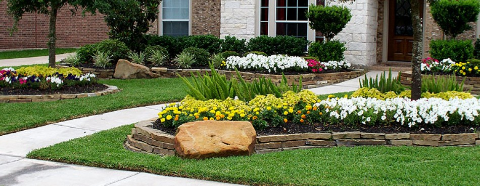 Residential landscape design houston design and ideas for Residential landscaping ideas