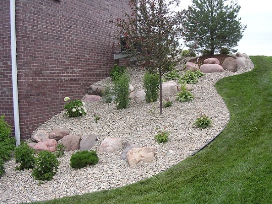 River Rock Landscaping Ideas  photo - 3