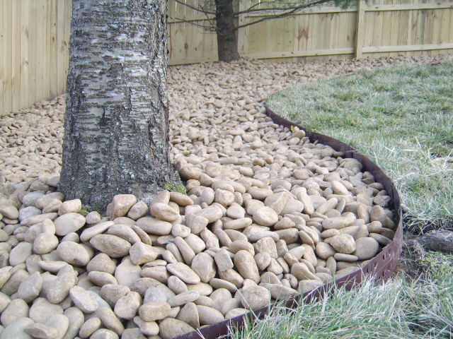 River Rock Landscaping Ideas  photo - 2