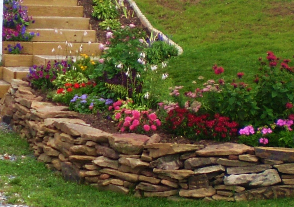Rock Wall Landscaping Ideas » Design And Ideas