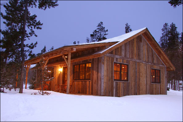 Rustic cabin building plans design and ideas for Cabin construction ideas