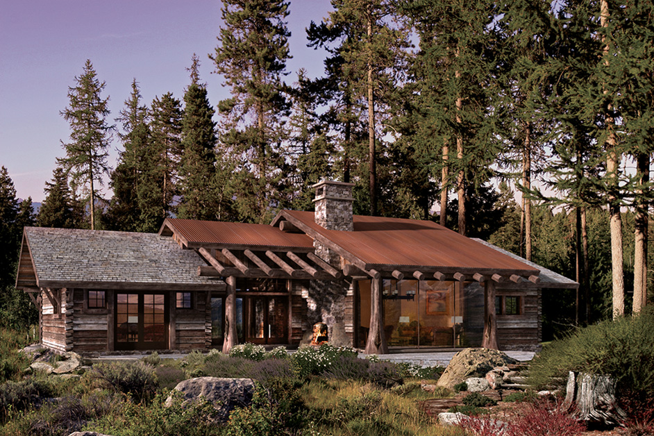 rustic cabin plans uk