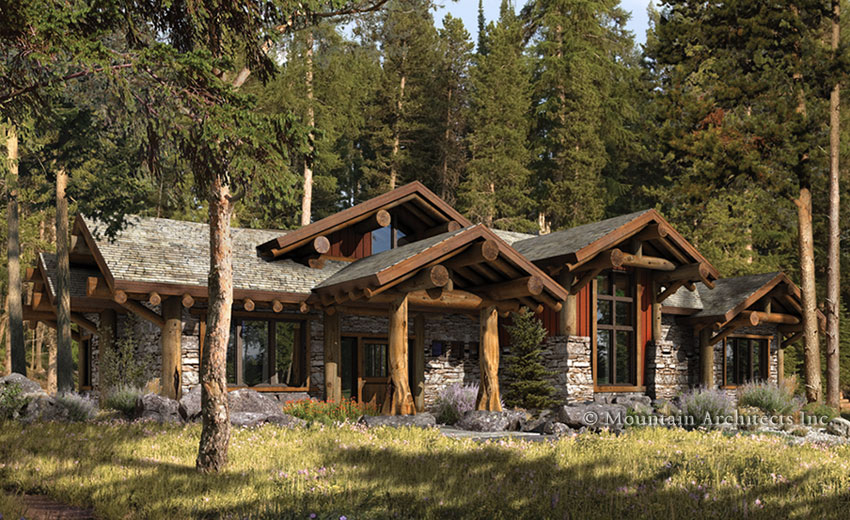 rustic cabin plans usa  photo - 1