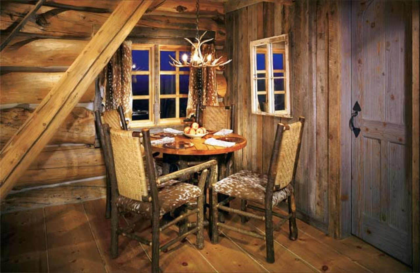 Rustic Log Cabin Art Design And Ideas