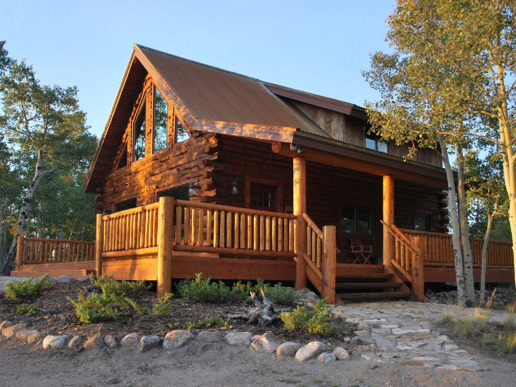 Rustic log cabins for rent in colorado design and ideas for Colorado log home plans