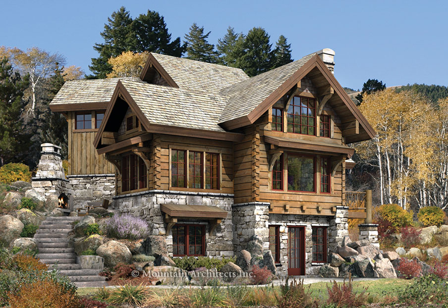 rustic log cabins plans » Design and Ideas