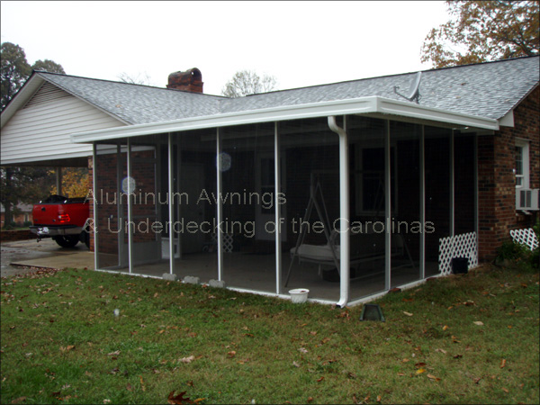 screened in patio awning » Design and Ideas