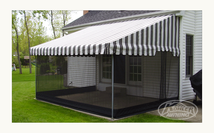 aluminum patio awning posts design and ideas