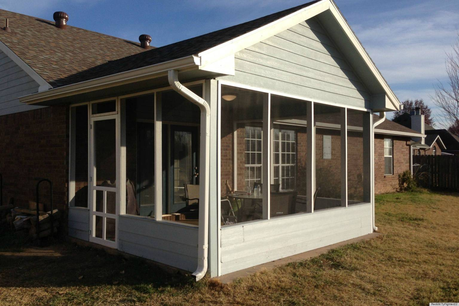 Diy Screened In Porch : Screened in patio under deck design and ideas