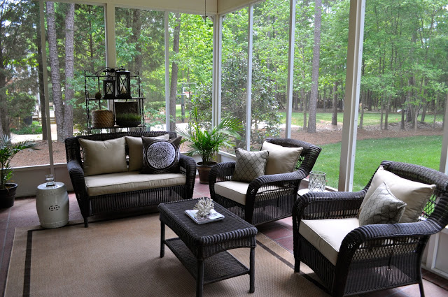 Screened In Patio Furniture