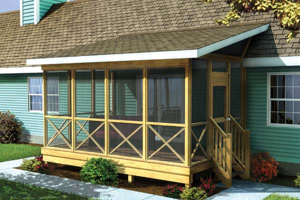 screened deck with kitchen screened in porch and deck design and ideas