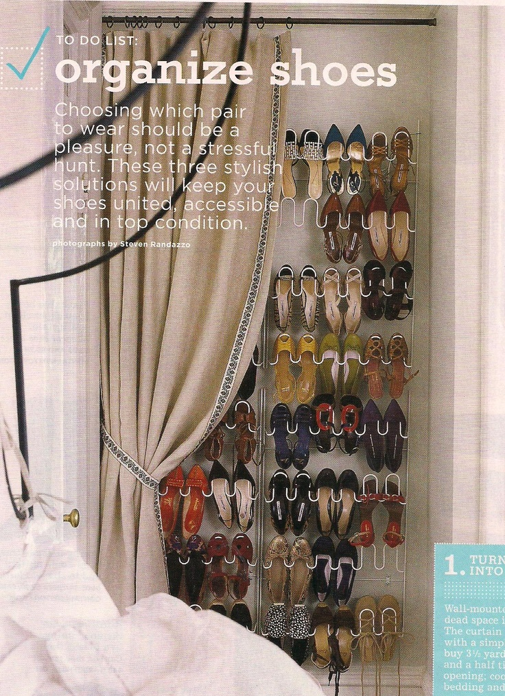 Shoe Closet For Small Space