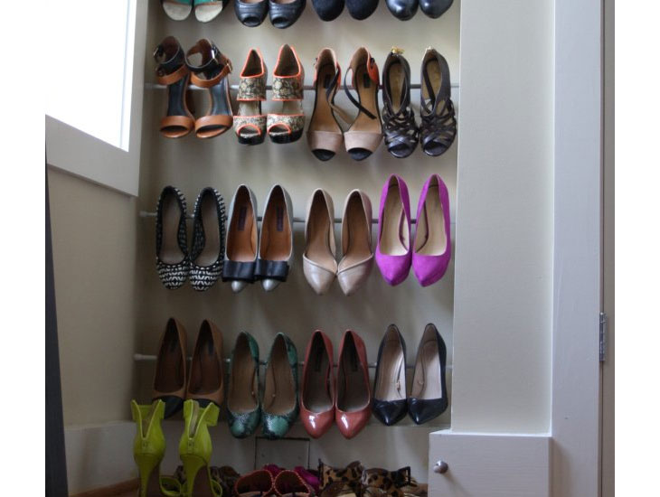 Exceptionnel Shoe Closet Ideas For Small Spaces
