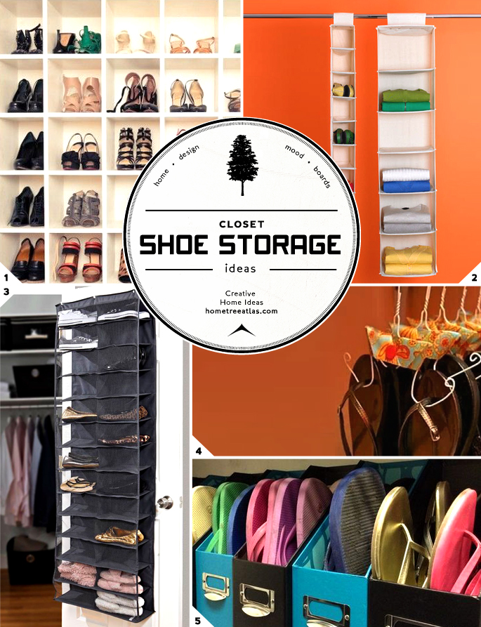 shoe storage ideas small closet  photo - 3