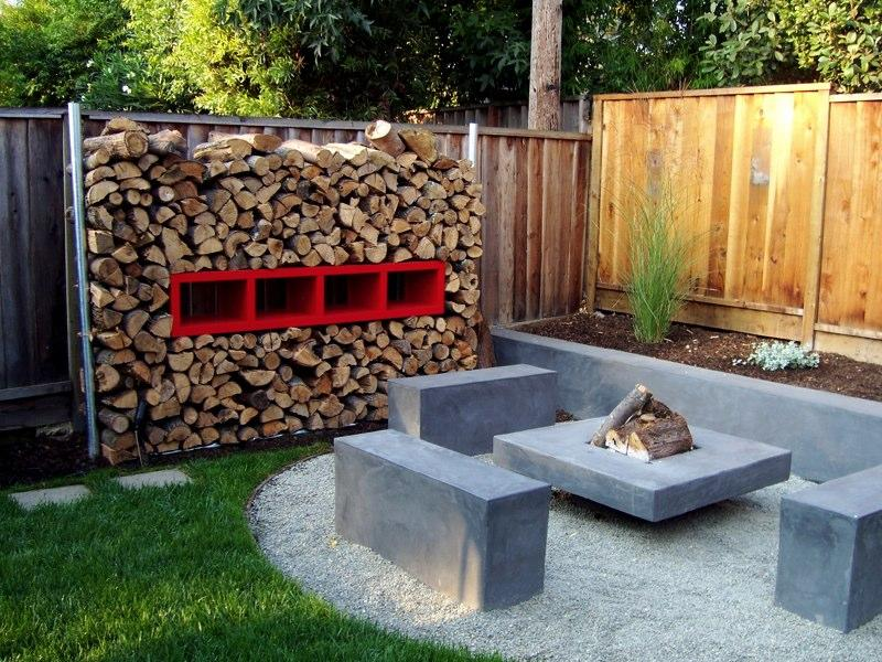 simple backyard fire pit designs