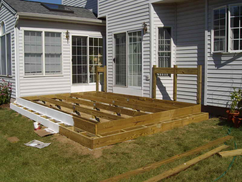 Simple floating deck plans design and ideas for Simple floating deck plans