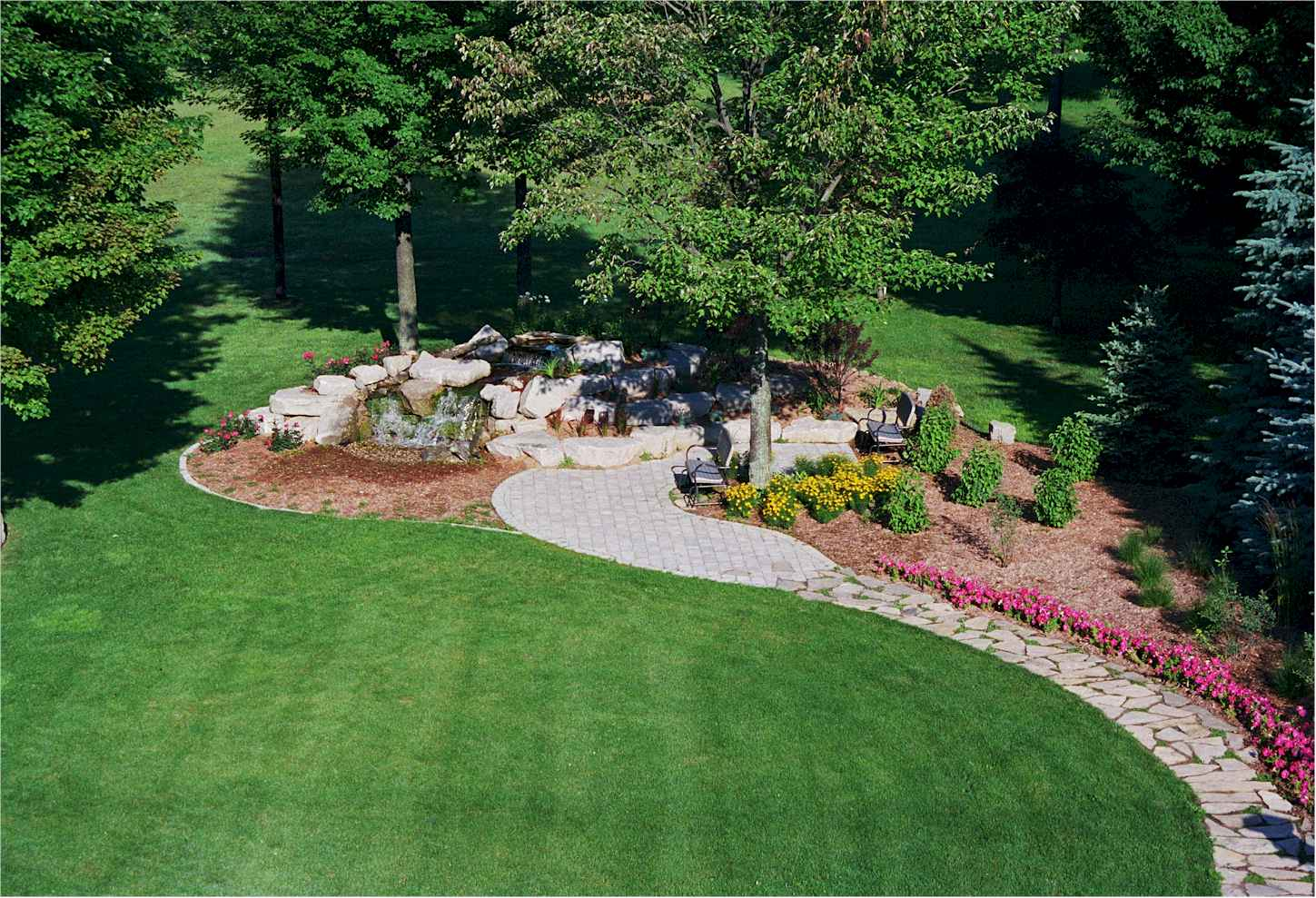 simple landscaping ideas images  photo - 2