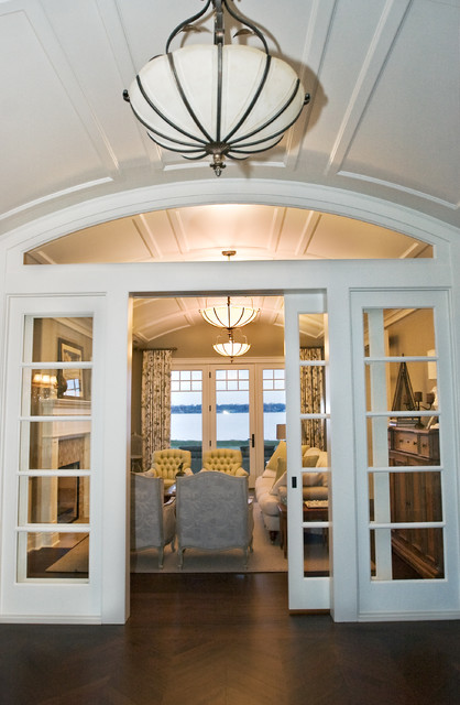 Sliding Doors Design West Arm Cottage photo - 1