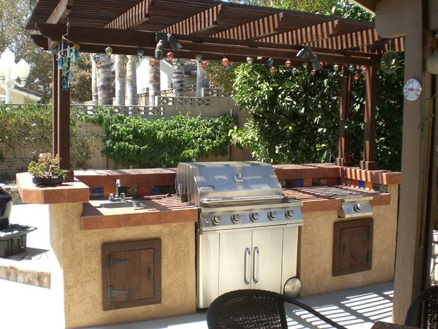 small backyard bbq area ideas