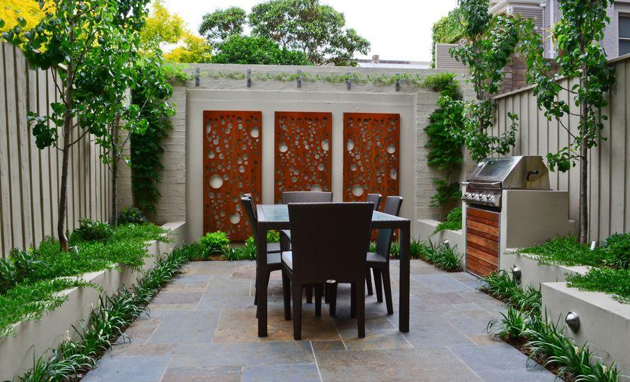 Small Backyard Bbq Area Ideas Photo   2