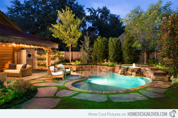 small backyard pool dimensions