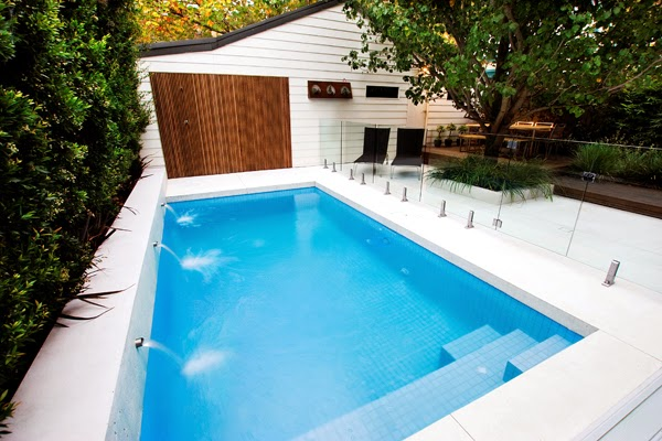 small backyard pool size