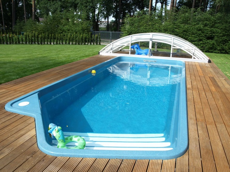 Small Backyard Pools for Refreshing View  photo - 1