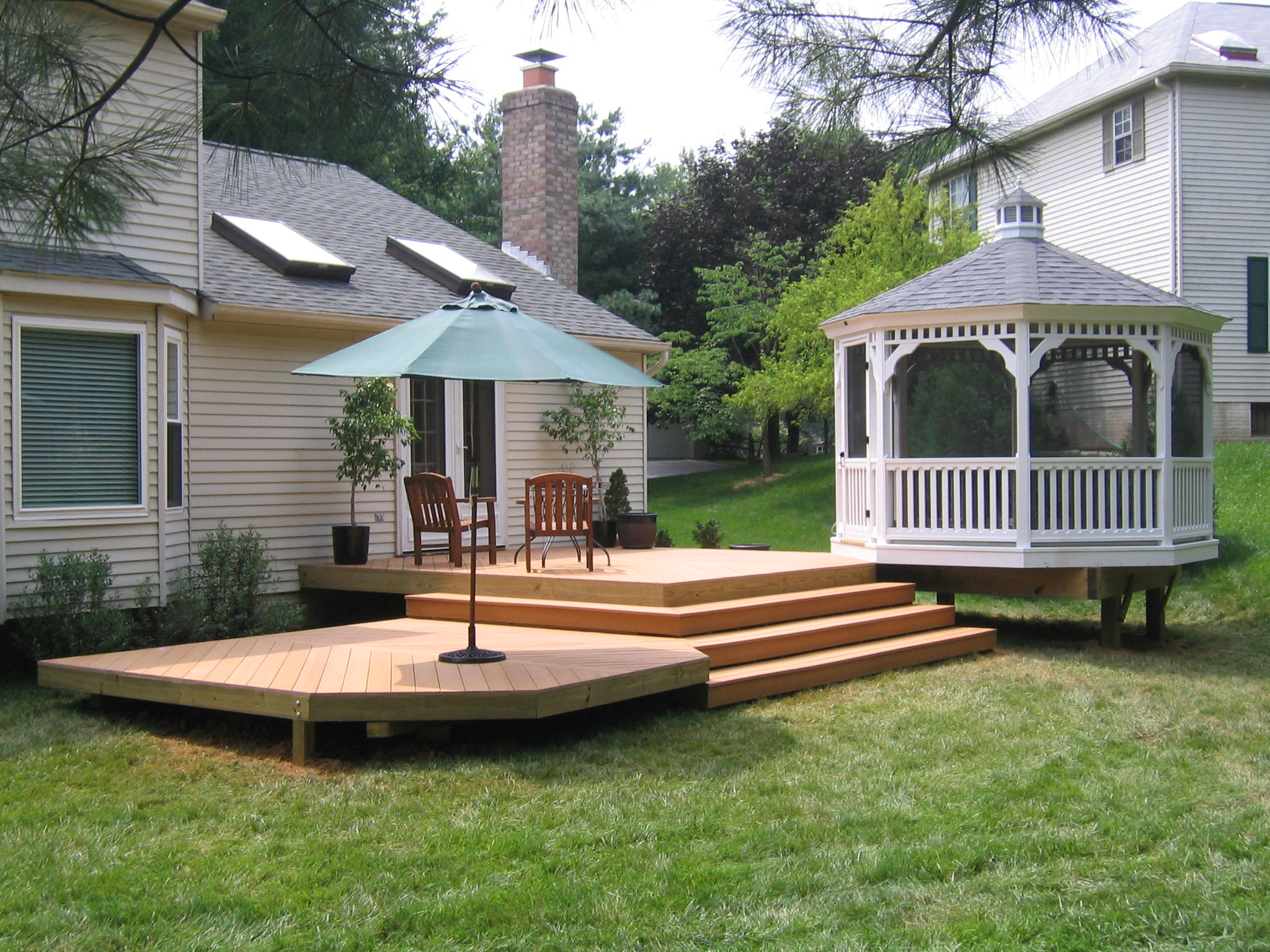 small patio and deck ideas Design and Ideas