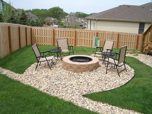 small patio fire pit ideas