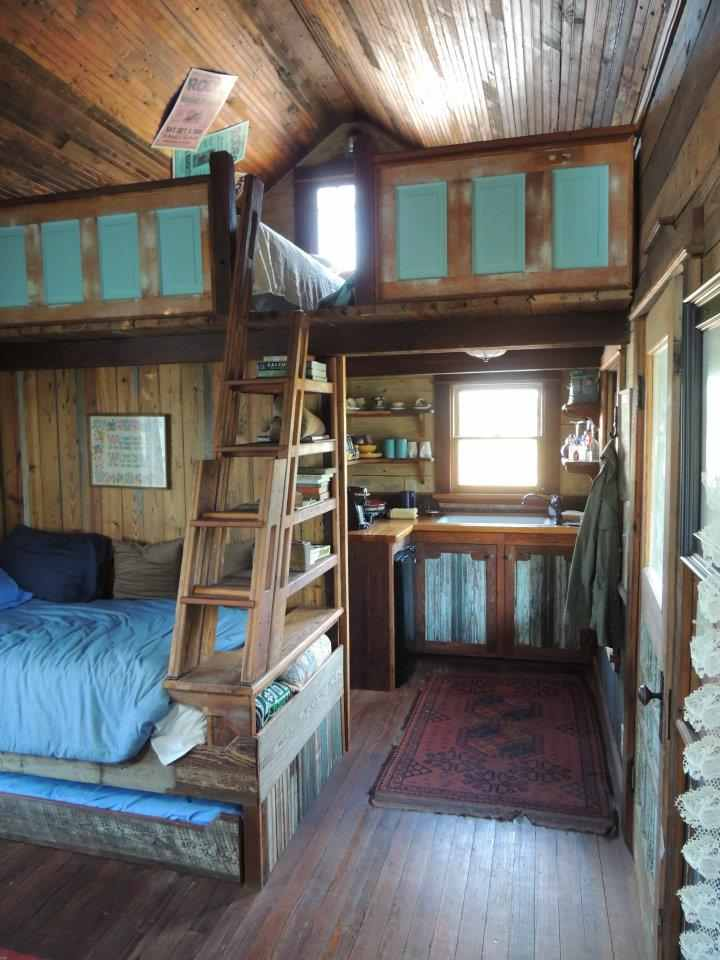 Small Rustic Cabin Plans Photo   3