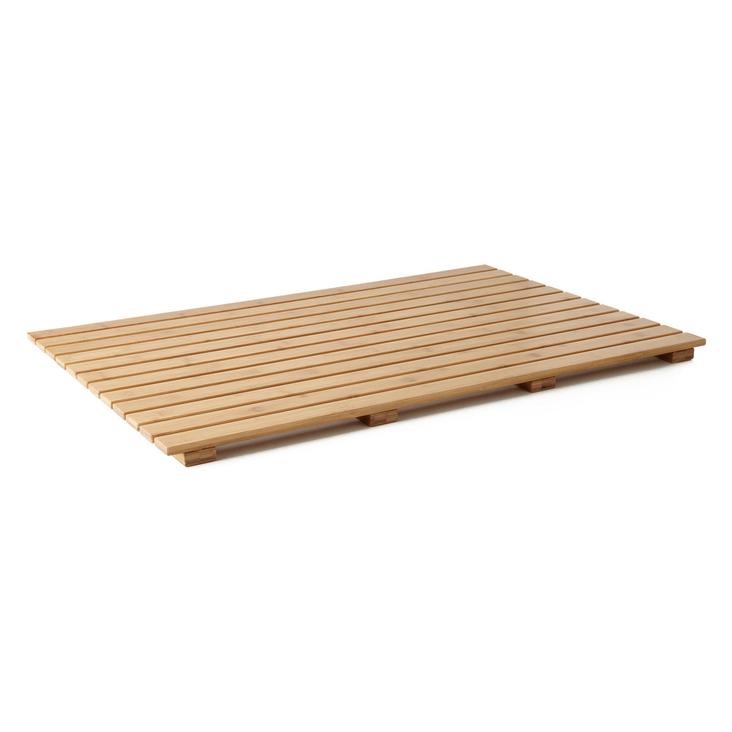 Spa Bathroom Accessories Bamboo Bath Mat