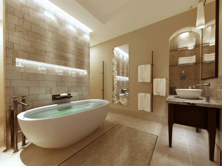 Spa bathroom design ideas arizona bathroom design and ideas for Bathroom spa designs