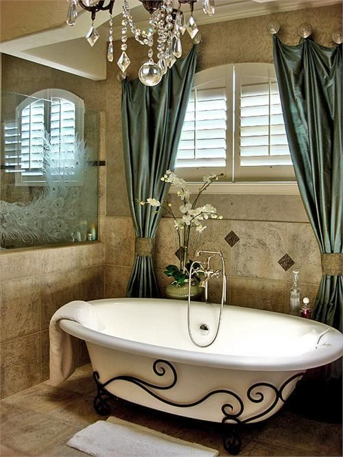 Spa Bathroom Design Ideas Casual Bathroom photo - 1