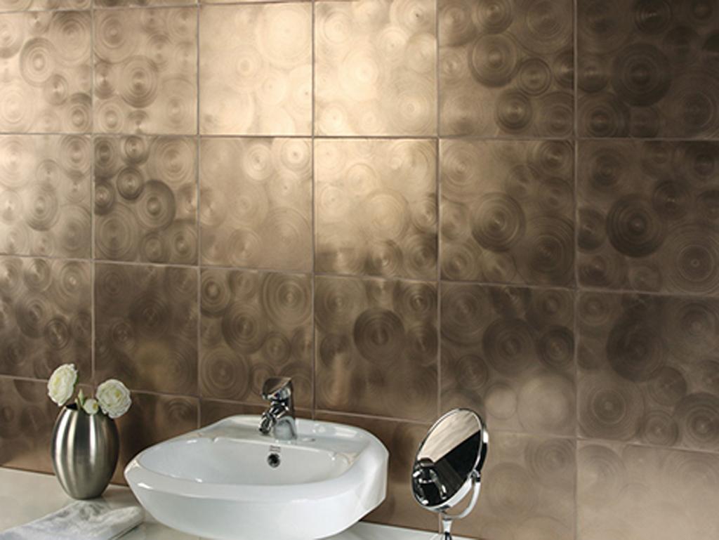 Spa Bathroom Design Ideas Dramatic Tile Photo   2