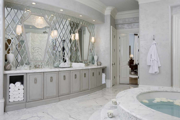 Spa Bathroom Design Ideas Gray