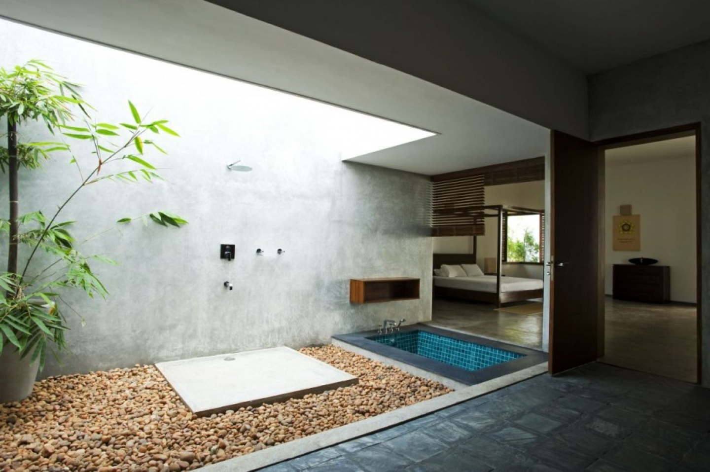 Spa Bathroom Design Ideas Outdoor