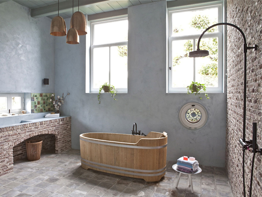 Spa Bathroom Design Ideas Rustic Country » Design And Ideas