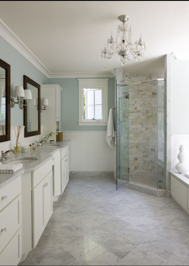 Spa Bathroom Design Ideas Traditional White Bathroom photo - 2