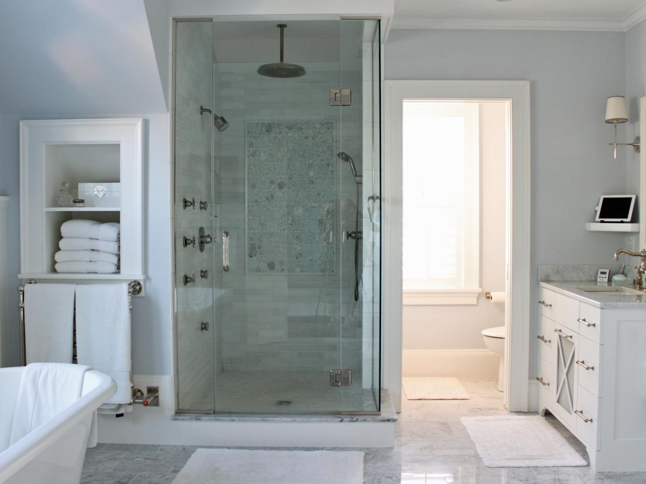 Spa Retreat Bathroom Ideas Part - 23: Spa Bathroom Design Waterfront Retreat