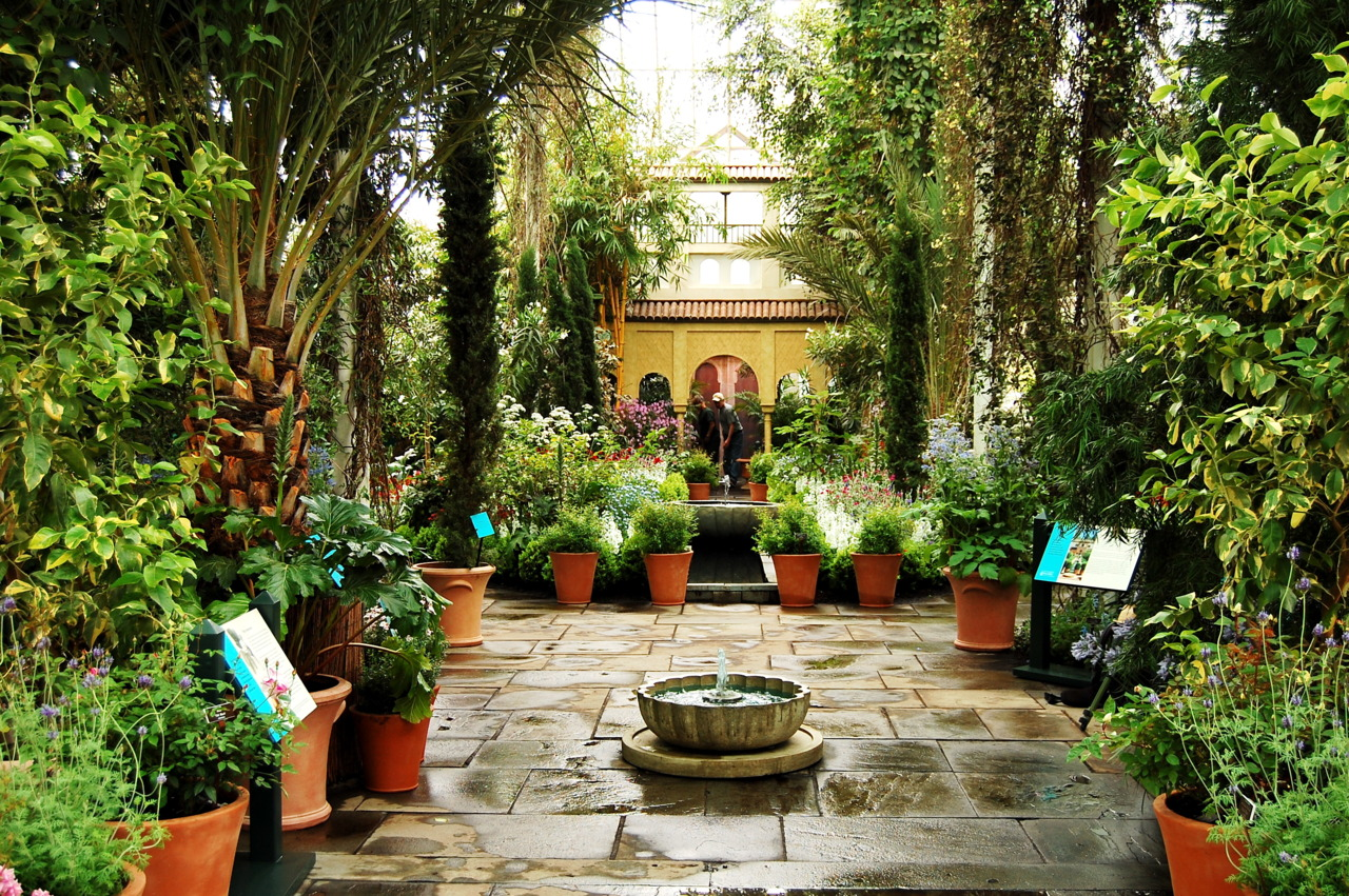 Spanish Garden Design and Ideas