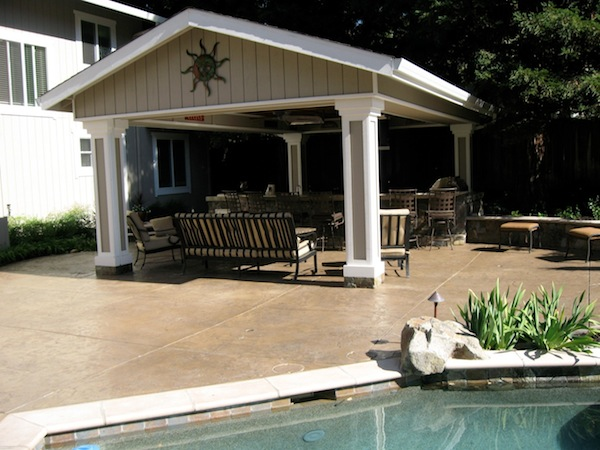 Stand Alone Patio Designs : Stand alone covered patio plans design and ideas