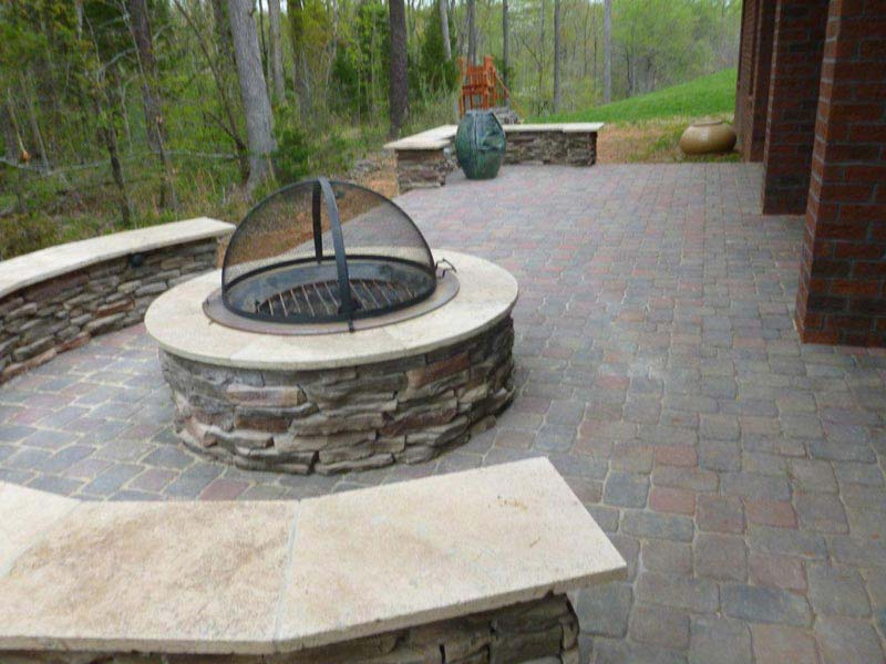 stone fire pit kit australia  photo - 2
