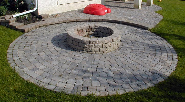 Stone Fire Pits Designs