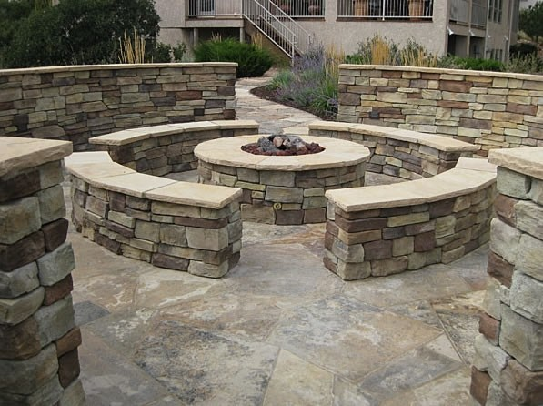 stone fire pits home depot » Design and Ideas