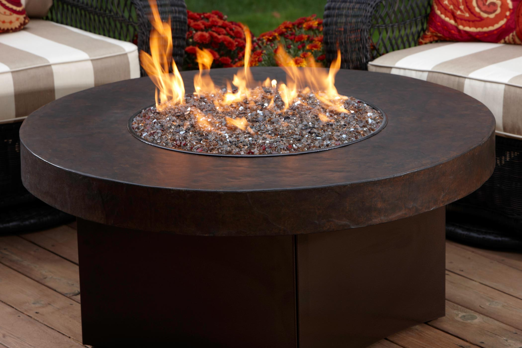 how to build an indoor fire bowl
