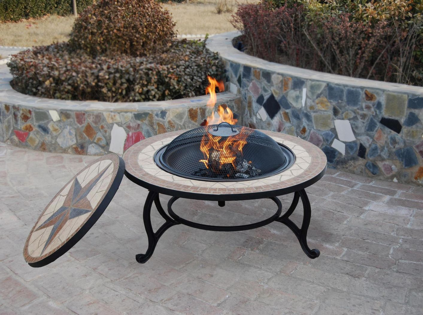tabletop fire pit uk