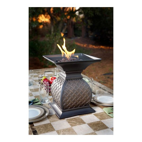 tabletop fire pit urn