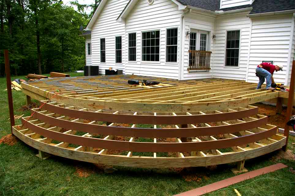 Superbe The Best Wood For Building Deck Stairs